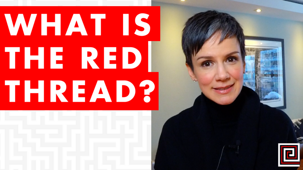 red thread-make meaning-strategy