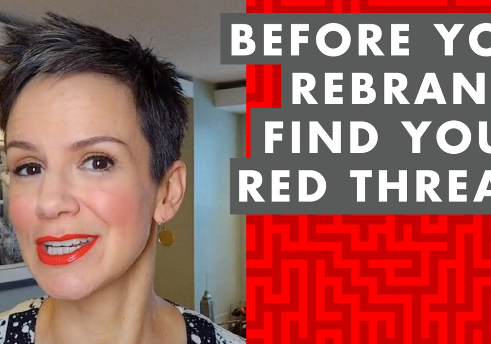 EP 044: Why the Path to a Better Brand Starts with the Red Thread