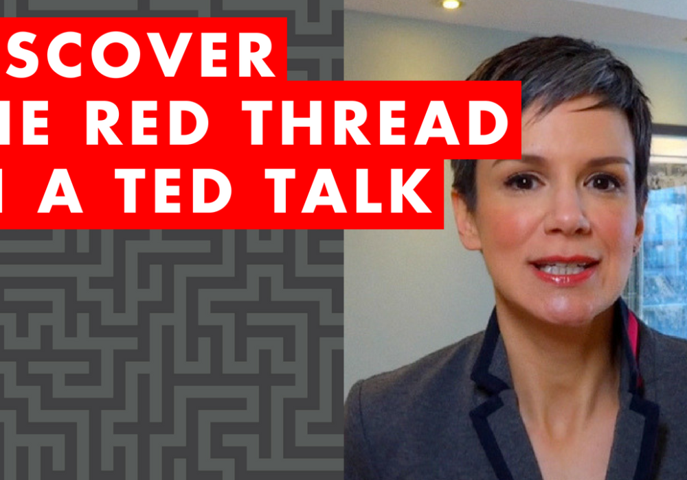 EP 005: Discover The Red Thread in a TED Talk