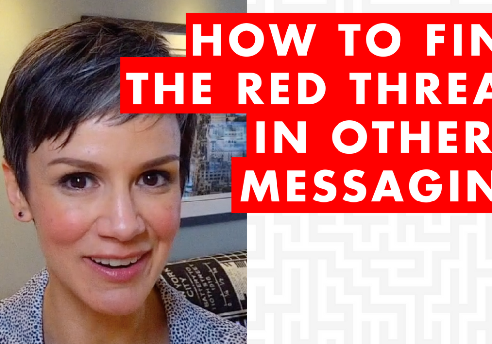 How to Find the Red Thread in Others' Messages – EP023
