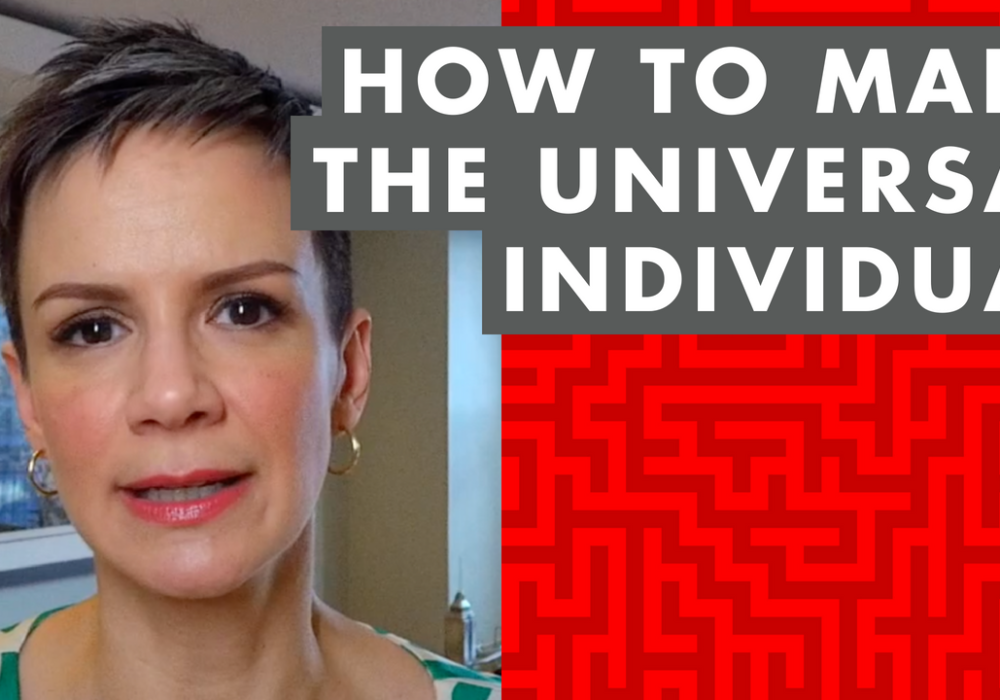 How to Make the Universal Individual – EP059