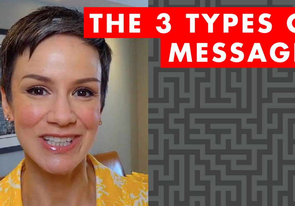 The 3 Types of Messages – EP030