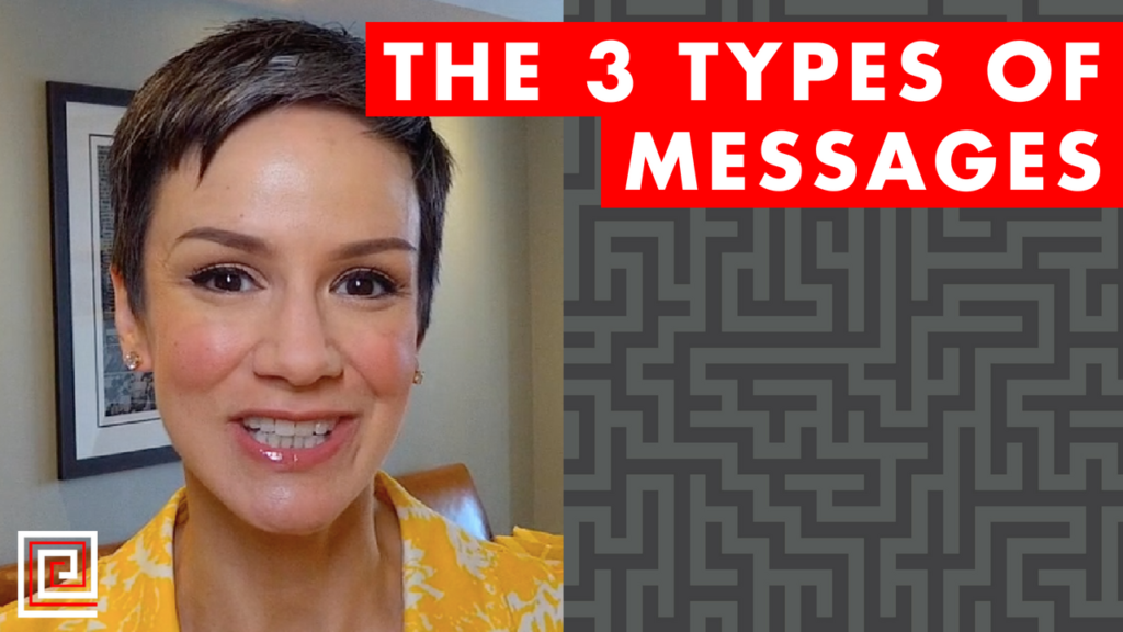 types of messages-red thread-strategy