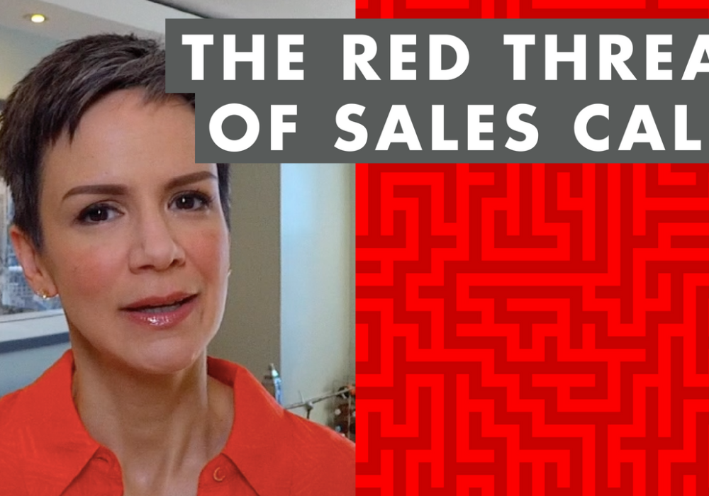 The Red Thread of Sales Calls – EP028