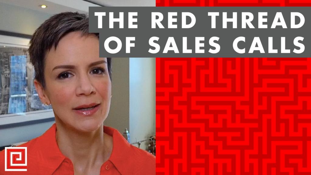 sales calls-branding-red thread