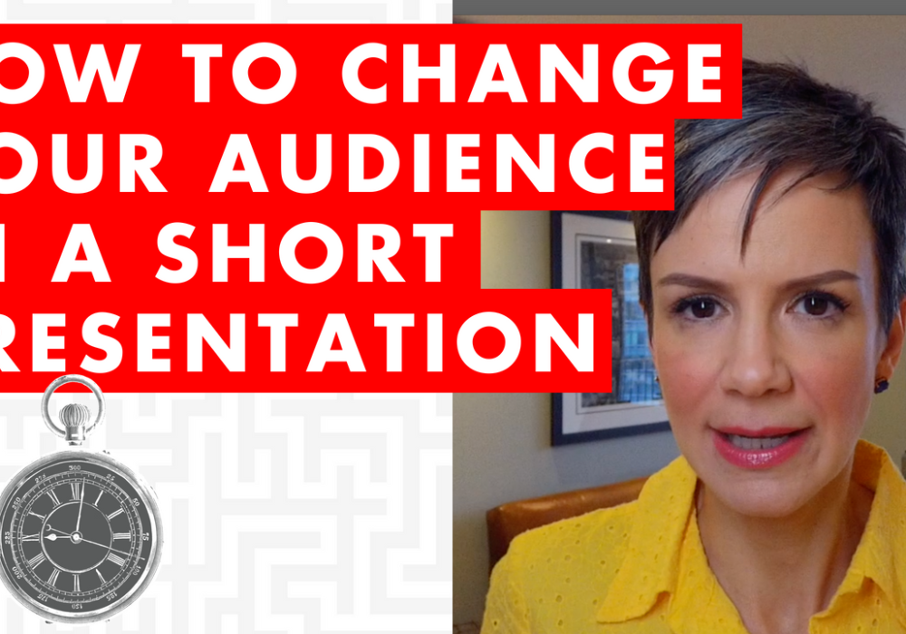 How to Change Your Audience in a Short Presentation – EP073