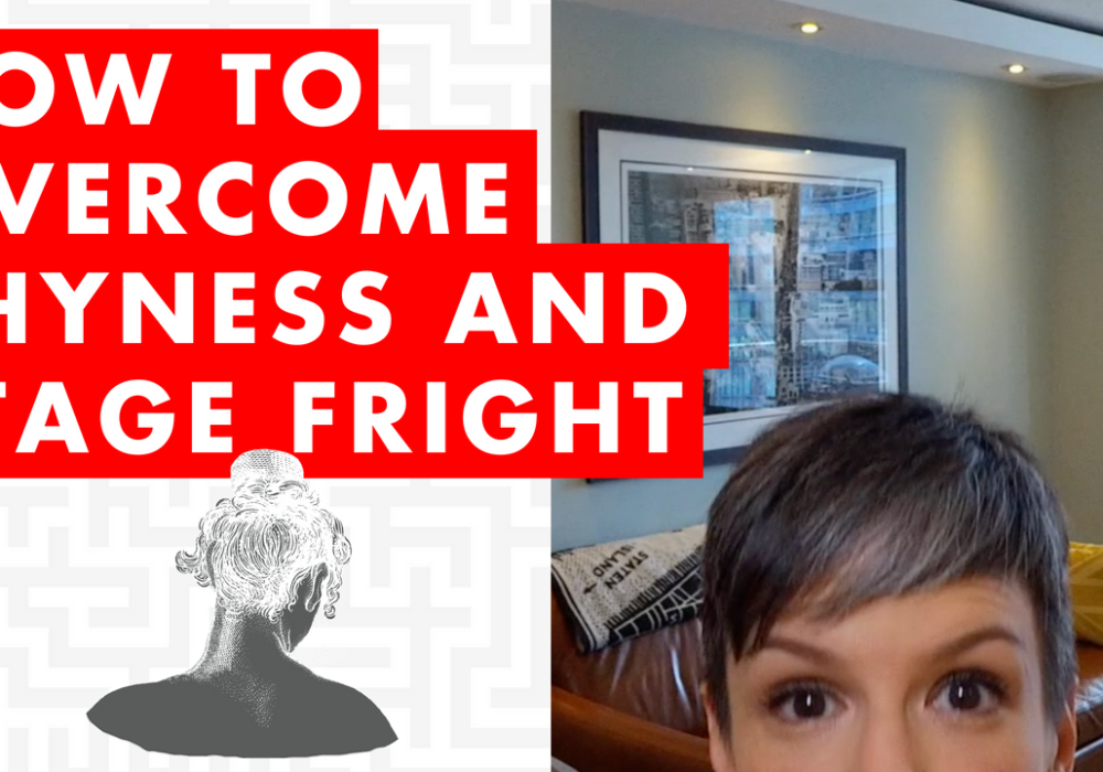 How to Overcome Shyness and Stage Fright – EP082