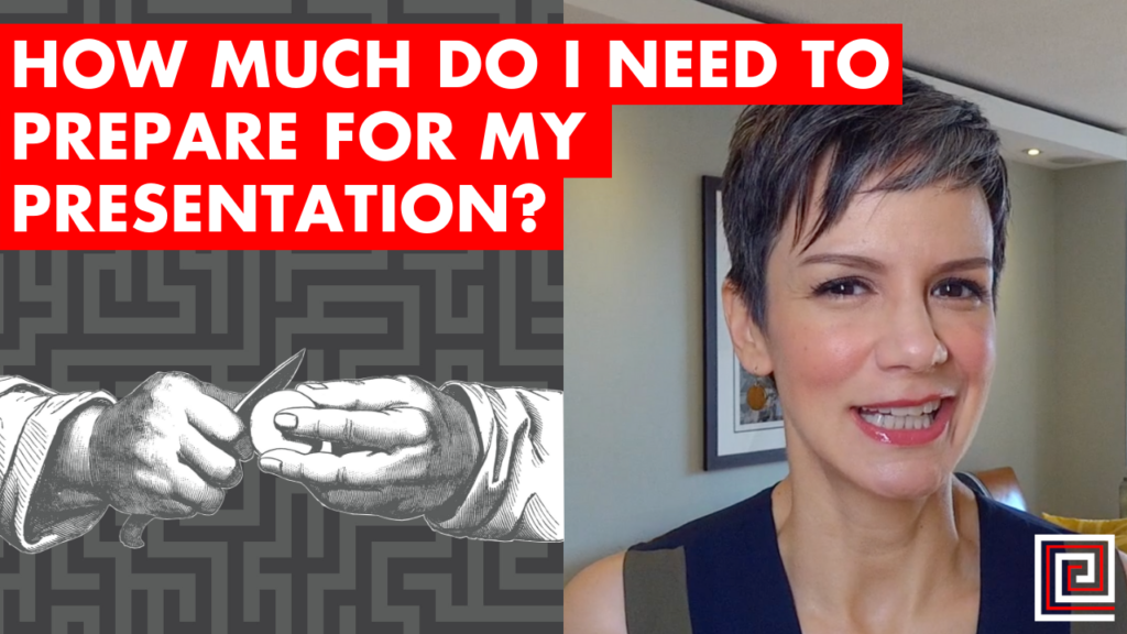 How Much Do I Need to Prepare for my Presentation? EP088