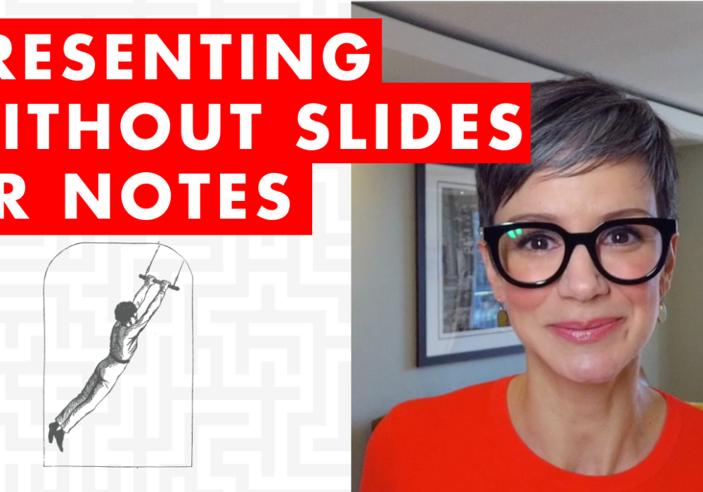Presenting Without Slides or Notes - EP:091